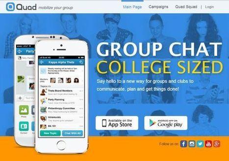 Quad, red de mensajería para universitarios, ya permite grupos de hasta 500 estudiantes | Web 2.0 y sus aplicaciones | Scoop.it