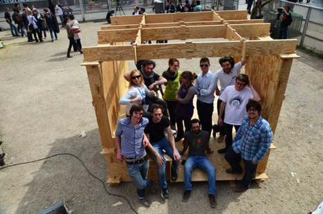 WikiHouse: l'architecture pour tous et à portée de tous | IMMOBILIER 2015 | Scoop.it