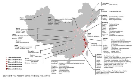Mapping China By Industrial Cluster : AlphaVN.com | Riding the Silk Road | Scoop.it