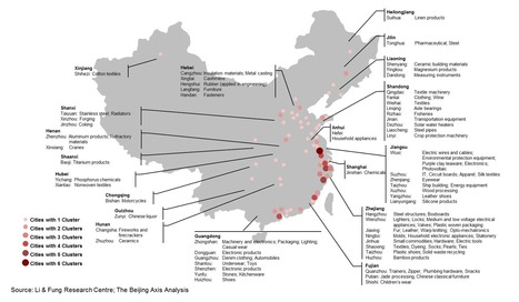 Mapping China By Industrial Cluster : AlphaVN.com   Riding the Silk Road   Scoop.it