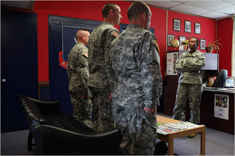 Drill Sergeant at Heart Ascends to Army's Top Spot | A Voice of Our Own | Scoop.it