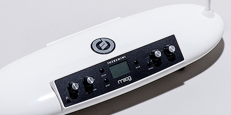 Moog's New Theremini Looks Like a Spaceship, and Sounds Like One Too | Gadget Lab | WIRED | Algorithmic Music Composition | Scoop.it
