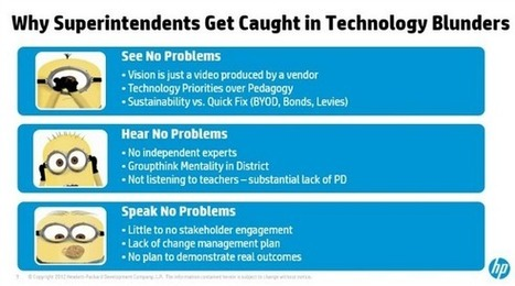 Reasons Why 94% of U.S. Superintendents are Making Technology Mistakes | Innovation Zone | Scoop.it