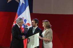 Tomás González recibe el Premio Nacional de Deportes