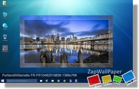 [Logiciel] ZapWallPaper Classic 2015.2.9.0, changer régulièrement votre fond d'écran sous Windows 10 | zapwallpaper | Scoop.it