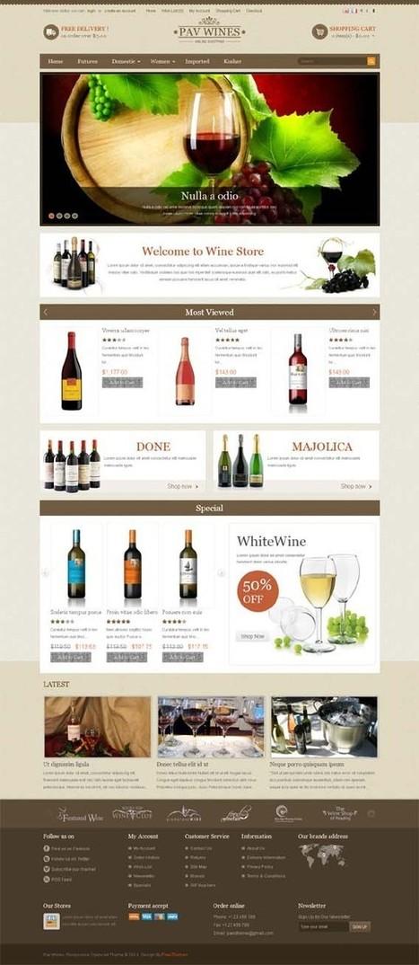 Pav Wines, Opencart Responsive Wine Shop Theme | Premium Download | Home Improvement | Scoop.it