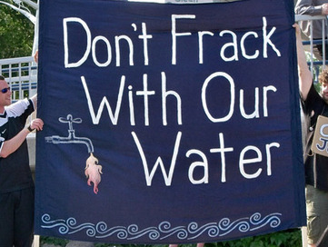 """Fracking: It's All About the Water 