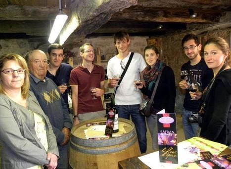 Trespoux-Rassiels. Vin rouge et safran : l'autre couleur de l'or - LaDépêche.fr | Le meilleur des blogs sur le vin - Un community manager visite le monde du vin. www.jacques-tang.fr | Scoop.it