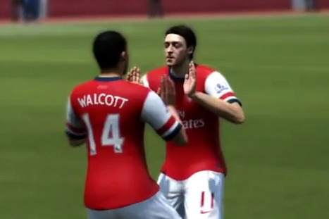 Fifa 14 celebrations: How to do Gareth Bale, Ronaldo, and Lionel Messi's ... - Mirror.co.uk | Football | Scoop.it