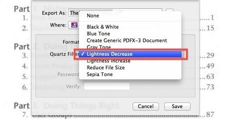Increase the Contrast of a PDF to Sharpen & Darken Text | All Things Mac | Scoop.it