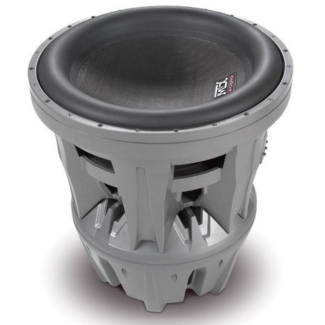 "MTX T9922-22 (T992222) Thunder 9900 SuperWoofer Series 22"" 6000W RMS Dual 2-Ohm Sound Quality JackHammer Round Super Woofer at Onlinecarstereo.com 