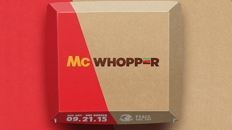McWhopper for Peace One Day | My Brand Friend | Scoop.it