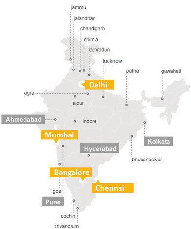 Locations - India Law Offices, New Delhi,Mumbai,Chennai,Bangalore,Kolkata,hyderabad & Pune | Data Management & Intelligence Services | Scoop.it