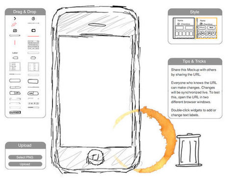 13 Super Useful UI Wireframe Tools | Tools | UX Design | Scoop.it