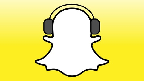 Snapchat Now Lets You Shoot Video And Play Music At The SameTime   audio branding   Scoop.it