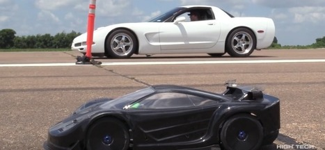 Twin Turbo Corvette Drag Races Radio-Controlled Car - CorvetteForum | Heron | Scoop.it
