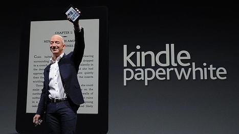 Amazon presentó su nuevo eReader «Paperwhite» y el Kindle Fire 2 | Gloriafer | Scoop.it
