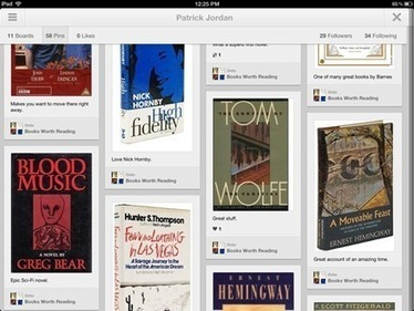 Pinterest Finally Has an iPad App | LCMCISD iPad Resources to Share | Scoop.it