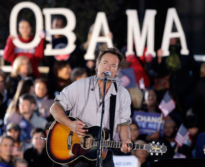 Springsteen Hits the Road for Obama - New York Times | Bruce Springsteen | Scoop.it