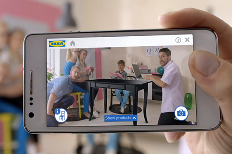 IKEA app projects virtual furniture into your living room   ICT Showcases   Scoop.it