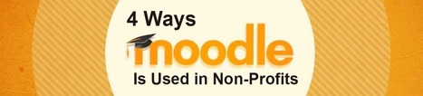 4 Ways Moodle is Used for Nonprofit Organizations | Educational technology | Scoop.it