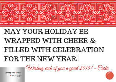 Happy Holiday's and A Great New Year! | Virtual Assistant | Scoop.it