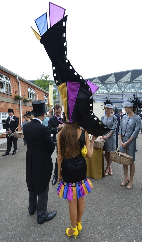 Royal Ascot 2013: Fashion Police Make Couture Errants Pay [PHOTOS] - IBTimes.co.uk | Men and womens fashion | Scoop.it