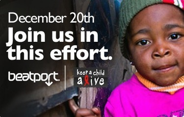 Beatport donating 100% of Tuesday's net proceeds to Keep A Child Alive   Beatportal   DJing   Scoop.it