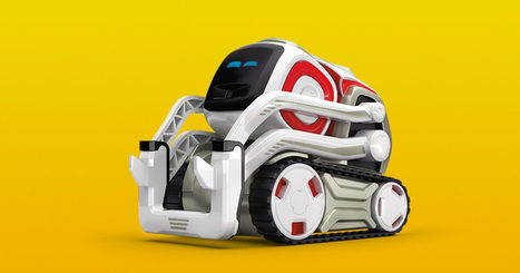 Cozmo Is the Smartest AI-Powered Robot  | 3D Virtual-Real Worlds: Ed Tech | Scoop.it