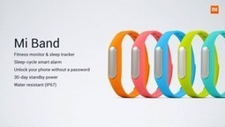 Xiaomi MiBand is more than £80 cheaper than Nike's FuelBand, but… - Pocket-lint | Wearables News | Scoop.it