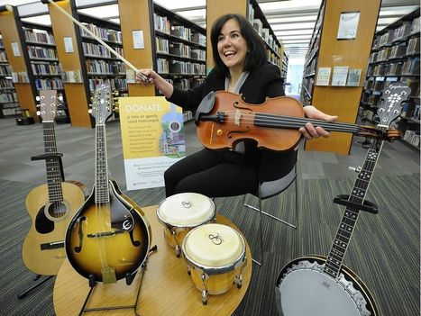 Borrowing a tune: Vancouver Library launches musical instrument lending program | innovative libraries | Scoop.it