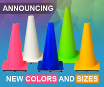 Colored Traffic Cones | Traffic Safety Store | Traffic Cones | Scoop.it