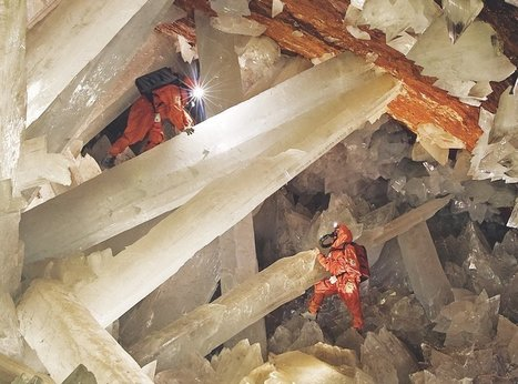The giant crystal cave | How It Works Magazine | geology | Scoop.it