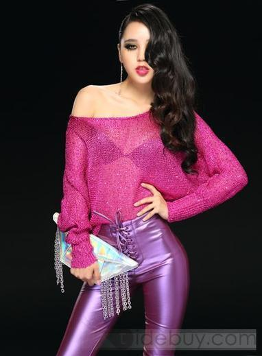 Sexy Candy Color Swallow Tail Cut-outs Knitwear   Bellafuny   Scoop.it