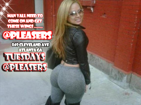 All You Can Eat Tuesday @Pleasers........ | GetAtMe | Scoop.it