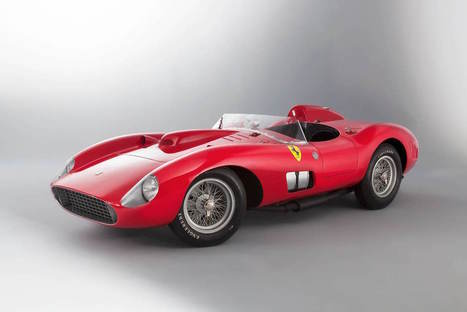 Ultra-rare 1957 Ferrari 335S auctioned for $35M | I can explain it to you, but I can't understand it for you. | Scoop.it