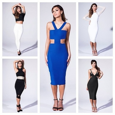 Boss Style: Nicole Scherzinger for Missguided Clothing Collection is Now Available | U.B. (Unsignedblast) Model, Fashion,Photography | Scoop.it
