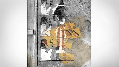 Conserving by copying: 3D Printing Tutankhamun's Tomb | Egyptology and Archaeology | Scoop.it