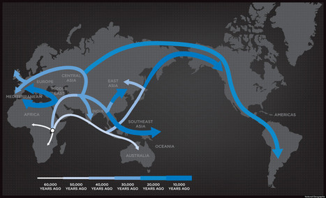 Human Evolution & Migration: National Geographic's Genographic Project Tells Our Story (VIDEO) | Sciences & Technology | Scoop.it