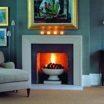 Traditional Marble & Limestone Fireplace Mantel | Fireplace Glass Doors | Scoop.it