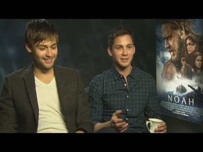 Douglas Booth and Logan Lerman talk snogging Emma Watson, bunk beds and saving puppies | stage.com | Scoop.it