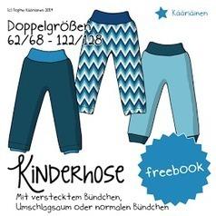 Kääriäinen: Freebook - Kinderhose - schnell und einfach, und doch raffiniert! | Nähanleitungen | Scoop.it