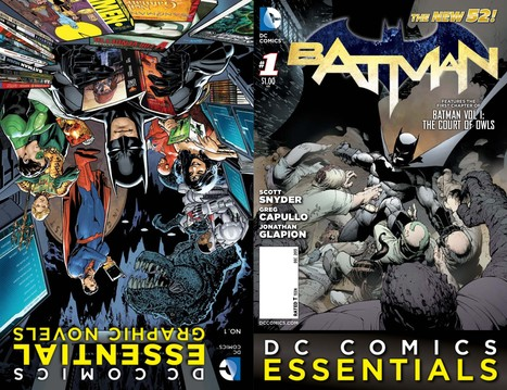 First Look at DC COMICS ESSENTIALS cover for BATMAN #1! | CandyASAP | Scoop.it
