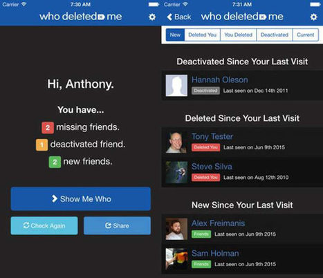 Now You Can See Who Deleted You On Facebook. Here�s How!, Facebook solutions, Facebook App Development Company Delhi,India, Facebook application developer India, Facebook brand promotion, Facebook ... | Web Development | Scoop.it