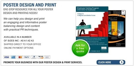 Considering creating a marketing poster that works for you | printing-specialists.co.uk | Poster Printing | Scoop.it
