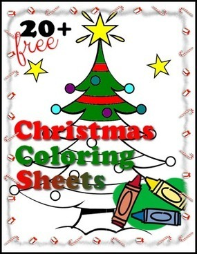 Free Printable Christmas Coloring Sheets - My Personal Accent | Crafts | Scoop.it