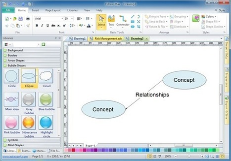 Free Concept Mapping Software - Freeware | eTools and Apps | Scoop.it