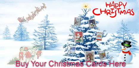 Enchanting  Magical Christmas Image | Buy Christmas Cards | Handmade Christmas Cards Online | Scoop.it