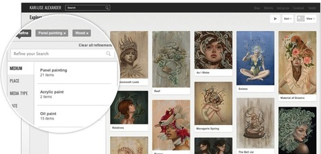 Now Any Museum or Gallery Can Exhibit Online through Google Open Gallery | Digital information and public libraries | Scoop.it