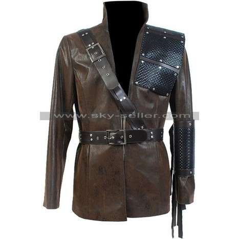 Dark Archer Arrow Brown Leather Jacket   Sky-Seller : Men Leather Jackets   Scoop.it